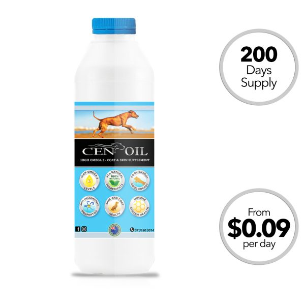 cen oil for dogs