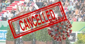 Horse Events Cancelled Due To COVID-19